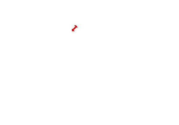 Grand Prix track map in white