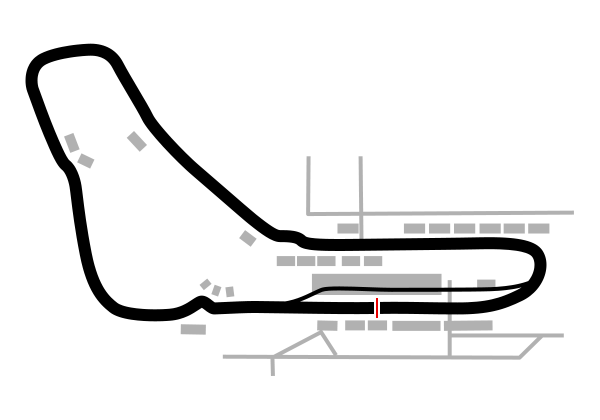Siyah grand prix pist haritası